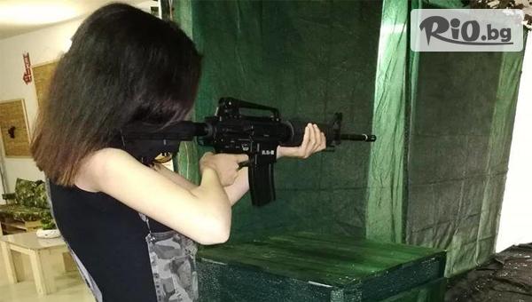 100 изстрела със снайпер Dragunov + напътствия от инструктор, от Еърсофт Стрелбище - Strikeball