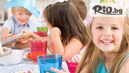 Детско парти за 10 деца за 49,90 лв. с празнична украса и почерпка в Spirit bar. Нека купонът да започва!