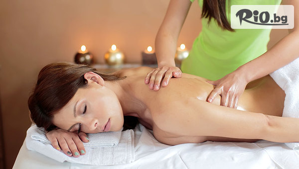 Точков масаж на гръб, врат, ръце и длани + релакс зона и чаша топъл чай, от СПА център в хотел Верея