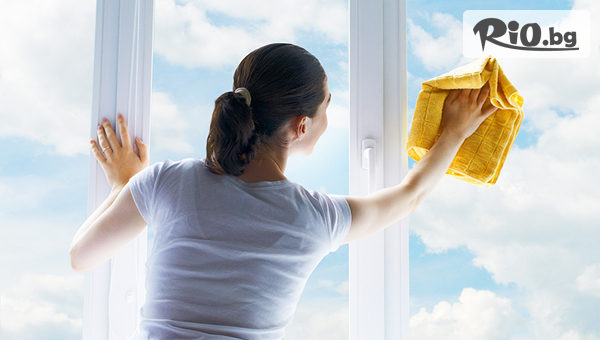 Двустранно почистване на прозорци #1