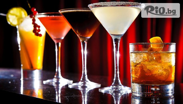 2 алкохолни коктейла + ядки #1