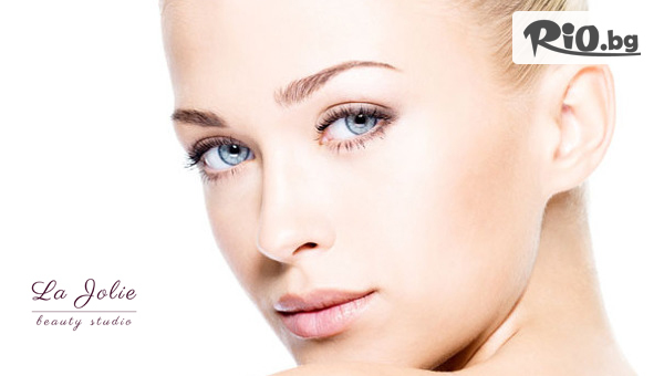 Ревитализираща терапия за лице с масло от карите и арган с мощно антиоксидантно действие, от La Jolie Beauty Studio