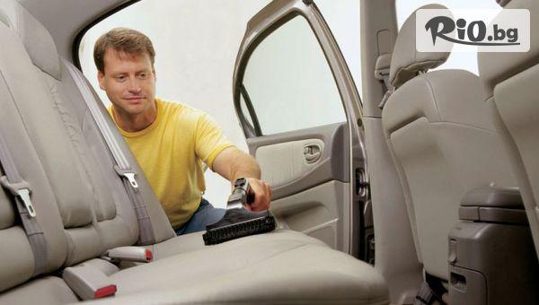 Пастиране, гланциране и машинно пране на салон на лек автомобил или джип в Автокозметичен център Авто Макс