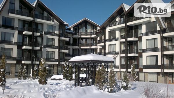Коледа край Банско! 2, 3 или 4 нощувки със закуски и вечери + СПА с вътрешен отопляем басейн, от Хотел Aspen Resort 3*