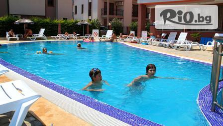 Цяло лято на море в Слънчев бряг! Нощувка на база All Inclusive + басейн, чадър и шезлонг, от Хотел Риагор 3*
