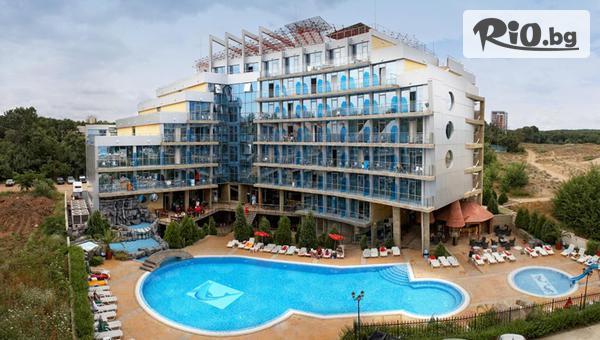 Юли и Август в Китен! Нощувка на база All Inclusive + басейн, от Хотел Каменец 4* на брега в живописния залив Атлиман