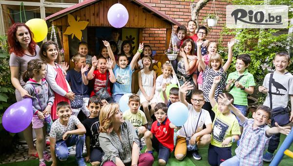 Международен Детски езиков лагер в Банско! 6 нощувки на база пълен пансион + Ежедневно езиково обучение на английски език, Био басейн и детски активности, от Лъки Банско Релакс и Спа 5*