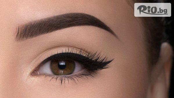 Микроблейдинг перманентен грим на вежди със 73% отстъпка, от NS Beauty Center