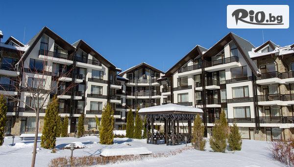 Нова година край Банско! 3, 4 или 5 нощувки със закуски и вечери, едната Празнична + басейн и СПА, от Хотел Aspen Resort 3*