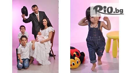 Професионална фотосесия за семейства, деца или кандидати за модели за 38.90 лв. от www.photosesia.com