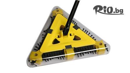 Триъгълна подочистачка Twister Sweeper за 32 лв от www.magazinabg.com