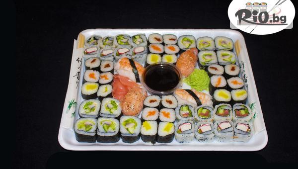 Суши сет т 54, 74 или 128 хапки