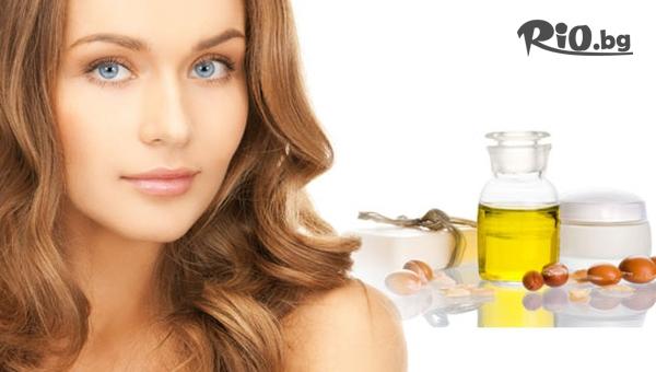 Заздравяваща терапия за коса + изсушаване с дифузер или преса с 50% отстъпка, от Салон Диди