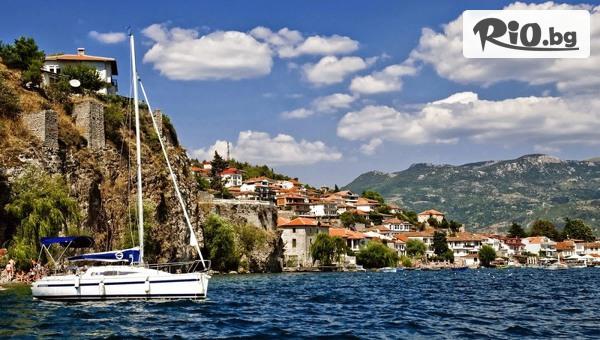 Почивка в Охрид! 5 нощувки със закуски и вечери във Вила Ловец + транспорт, посещение на Скопие и с възможност за Тирана и Дуръс, от ТА Поход