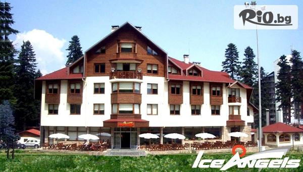 Прохладно лято в Боровец! Нощувка със закуска и вечеря + Wellness пакет и вътрешен отопляем басейн, от Хотел Ледени ангели 4*
