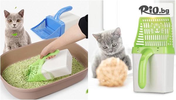 Лопатка за почистване на котешка тоалетна, от Topgoods.bg