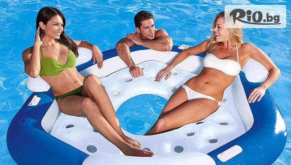 Готови за лятото! Надуваемо плажно легло за трима, от Topgoods.bg