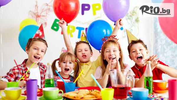 2 часа рожден ден за до 10 деца! Празнично меню + джаги, билярд и дартс, от Кафе-бар Barcelona