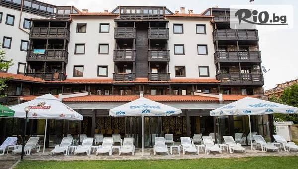 СПА почивка в Банско! Нощувка на база All Inclusive + вътрешен топъл басейн и релакс зона, от Хотел Каза Карина