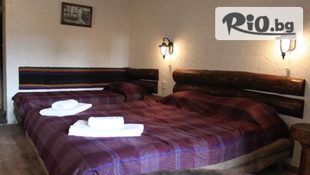 СПА релакс в Хисаря до края на Март - важи и за празниците! Нощувка със закуска и вечеря + вътрешен минерален басейн, джакузи и финландска сауна, от Еко стаи Манастира 3*