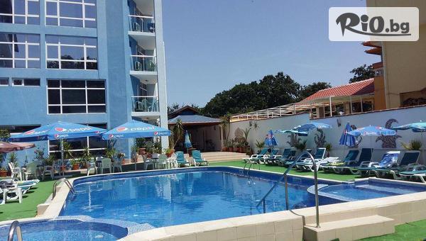 Цяло лято на море в Китен! Нощувка на база All Inclusive + солен басейн, джакузи, шезлонг и чадър, от Хотел Китен Палас