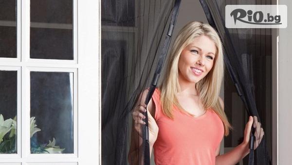 Магнитен комарник за врата с размери 100 x 210см, от Topgoods.bg