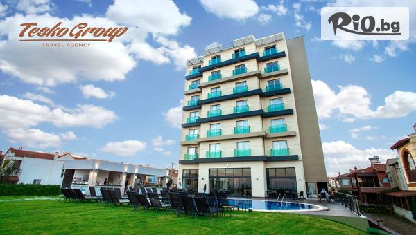 Лятна почивка в Айвалък, Турция! 5 нощувки на база All Inclusive в Хотел MUSHO 4*, със собствен транспорт, от Теско груп