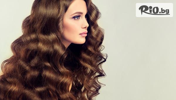 Кератинова терапия за коса и сешоар с 60% отстъпка, от Салон за красота Angels