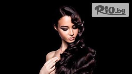 Арганова терапия за коса с маска и арганово масло, постригване /по желание/ и оформяне на косата със сешоар само за 12.90лв. от Салон за красота Mistrella