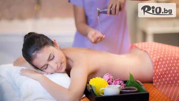 Ориенталски дълбокотъканен масаж с масла от слива и джинджифил за цяло тяло + длани и ходила, от Студио Giro