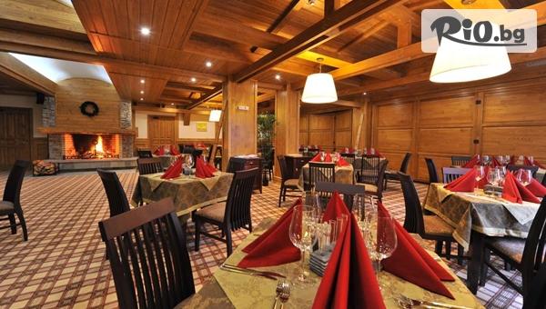 Зимна СПА почивка край Банско! Нощувка със закуска + безплатно ски оборудване и трансфер до ски център, от Пирин Голф Хотел andamp;СПА 5*