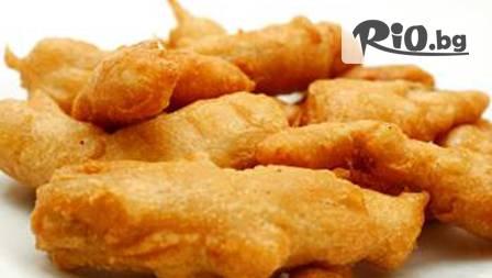 Килограм вкусна бяла риба с картофки соте за четирима за 15,49 лв. в Pizza &Fish!