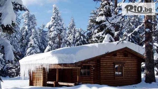Коледа в Боровец! Нощувка в къщичка за до 4-ма души със или без сауна, от Вилно селище Ягода