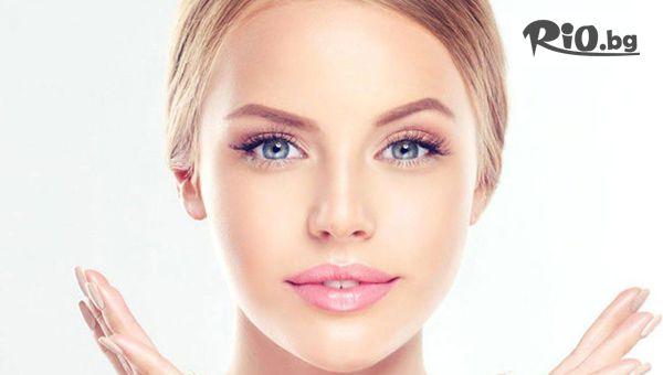 Ултразвуково почистване, безиглена мезотерапия, подхранваща маска, криотерапия и нанасяне на подходящ крем, от Център Здраве и красота