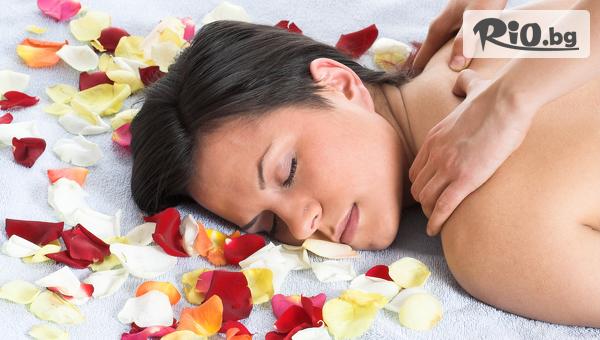 Подарък за любимата жена! Релаксиращ масаж с масло от рози и жасмин на цяло тяло + Бонус: Масаж на лице, длани, ходила, от Салон за красота Giro