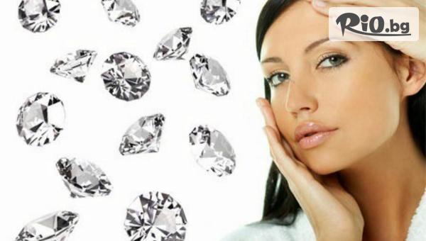 Кислородна терапия на лице, диамантен пилинг с перлен екстракт и кислороден серум или Дълбоко почистваща терапия на лице + почистване на вежди, от Салон за красота Fabio Salsa