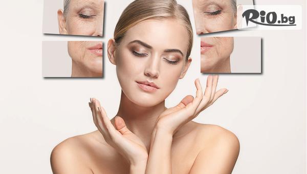 Anti-age подмладяваща лифтинг терапия на лице с колаген и хиалурон, от Салон Mademoiselle Izabel