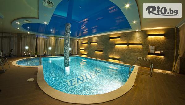 Уикенд СПА почивка във Велинград до края на Юни! Нощувка със закуска за до ЧЕТИРИМА + басейни с минерална вода и СПА, от СПА хотел Енира 4*