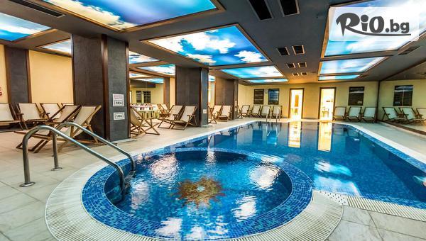 Почивка в Банско през Декември! Нощувка със закуска и вечеря, по избор + басейн и СПА, от Парк хотел Гардения 4*
