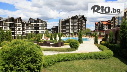 СПА почивка край Банско до края на лятото! 2, 3 или 4 нощувки със закуски и вечери + басейн и СПА център, от Хотел Aspen Resort 3*