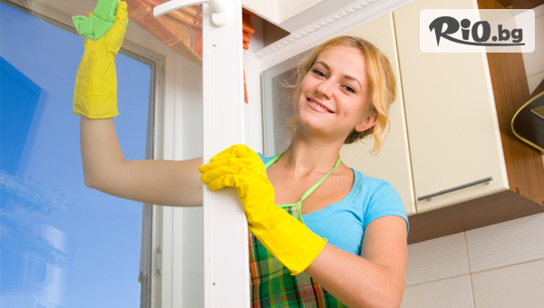 Почистване на прозорци и мека мебел