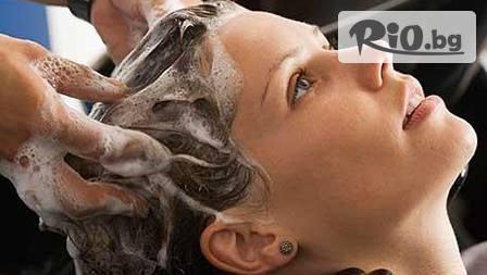 Масажно измиване, маска и сешоар за 7,50 лв. или пакет от пет посещения за 30 лв. във фризьорски салон
