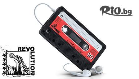 Силиконов калъф-касета iTape Deck за iPhone 4/4S САМО за 4.80 лв от oferta.bg