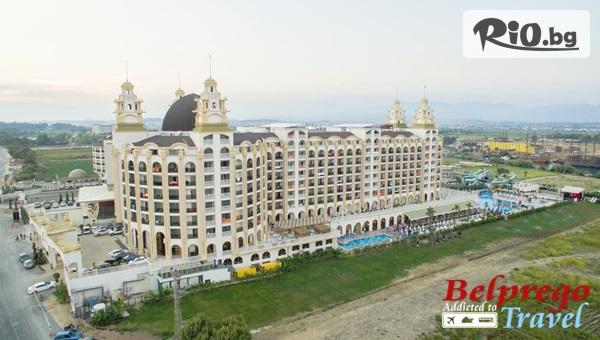 Нова година в Турция! 4 нощувки на база All Inclusive в Jadore Deluxe Hotel and Spa 5*, Сиде, от Белпрего Травел