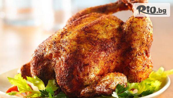 Пиле на грил и картофки #1