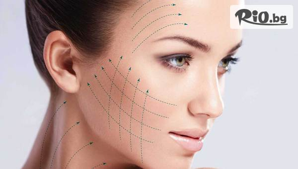 Радиочестотен лифтинг на околоочен контур и безиглена мезотерапия на лице, от Център Здраве и красота