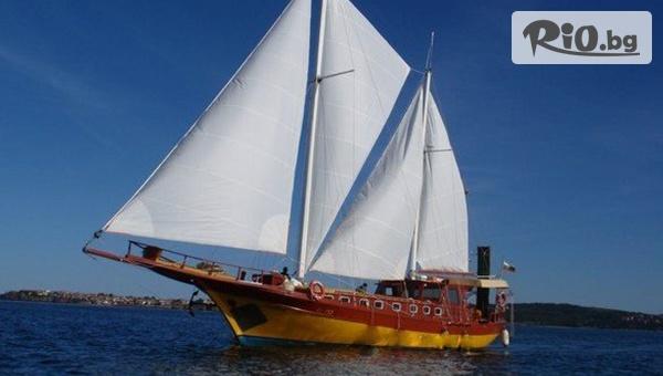 4-часов Круиз край Созопол и остров Свети Иван с Яхта Eternal Flame или Яхта Trophy + хапване и напитка