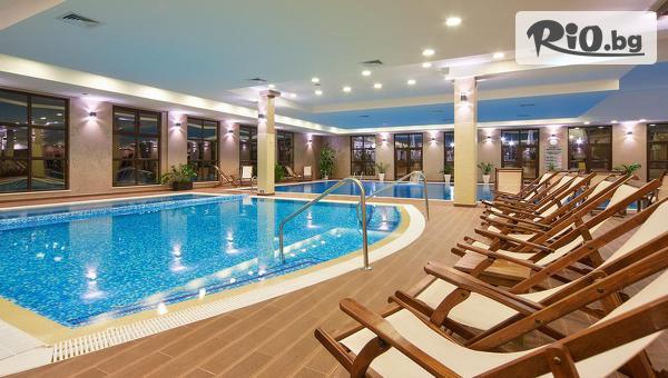 5-звезден лукс във Велинград! Нощувка със закуска и възможност за вечеря + SPA и минерални басейни, от Гранд Хотел Велинград