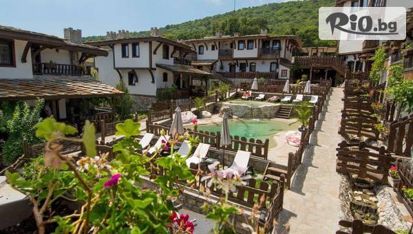 Почивка край Бургас! 3 или 5 нощувки със закуски + външен басейн и джакузи, от Комплекс Старите къщи
