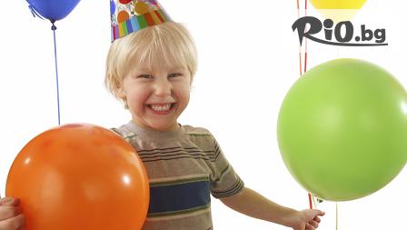 Детски рожден ден в Парти-клуб Слънчо! 2 часа забавление, меню за до 12 деца и техните родители + Торта, Анимация и безплатно Фотозаснемане